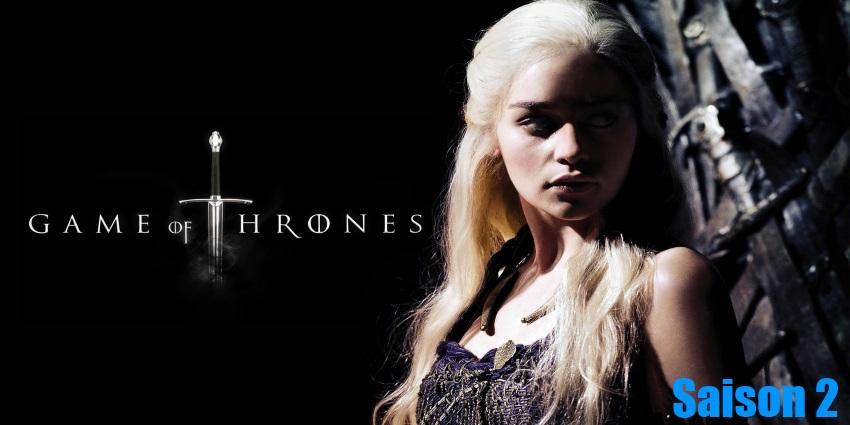 Toute la sérieGame Of Thrones Saison 2 en streaming version française complète à regarder gratuitement,