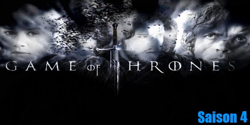 Toute la série Game Of Thrones Saison 4 en streaming version française complète à regarder gratuitement,
