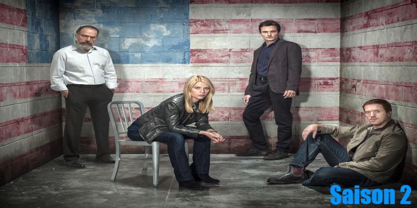 Regarder Homeland Saison 2 en streaming en version française