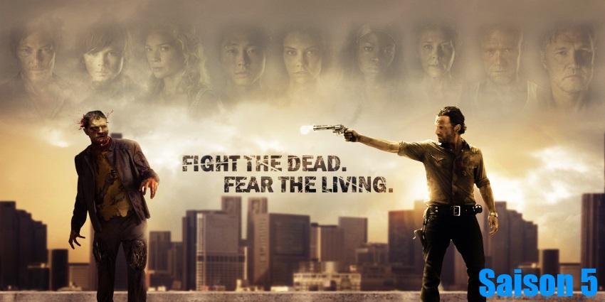 Toute la série The Walking Dead Saison 5 en streaming version française complète à regarder gratuitement,