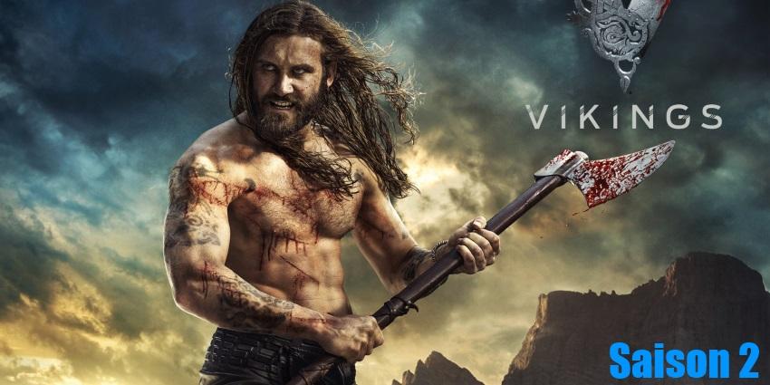 Toute la série Vikings Saison 2 en streaming version française complète à regarder gratuitement,